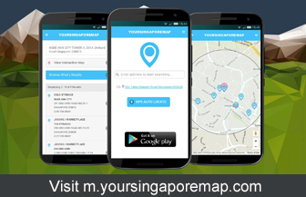 YourSingaporeMap Mobile Application